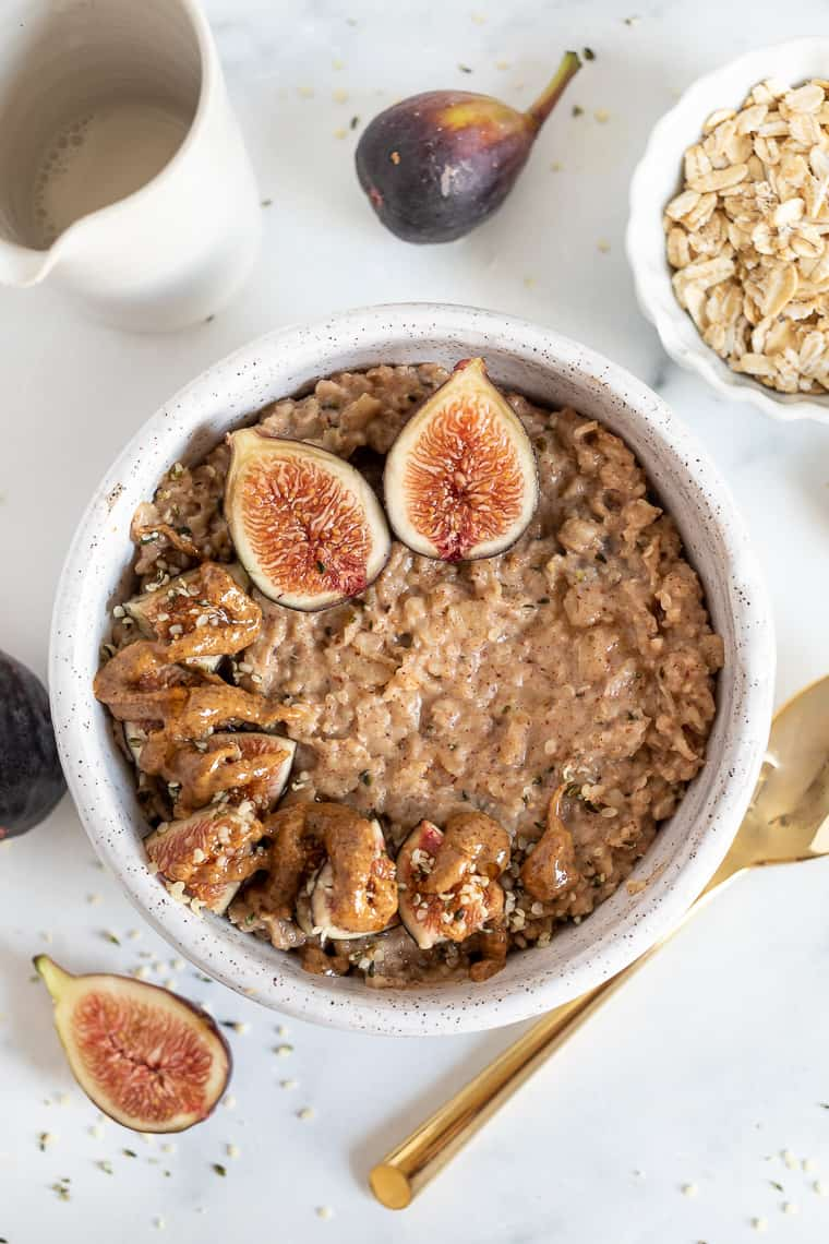 Almond Butter Oatmeal Recipe