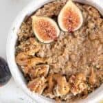 Healthy Almond Butter Oatmeal