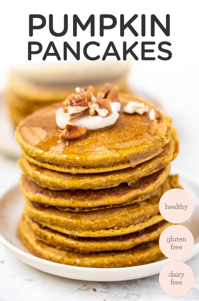 Healthy & Gluten-Free Pumpkin Pancakes