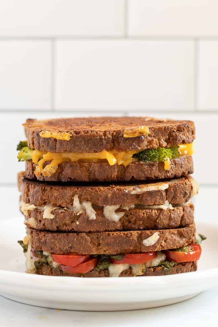 6 Vegan Grilled Cheese Recipes