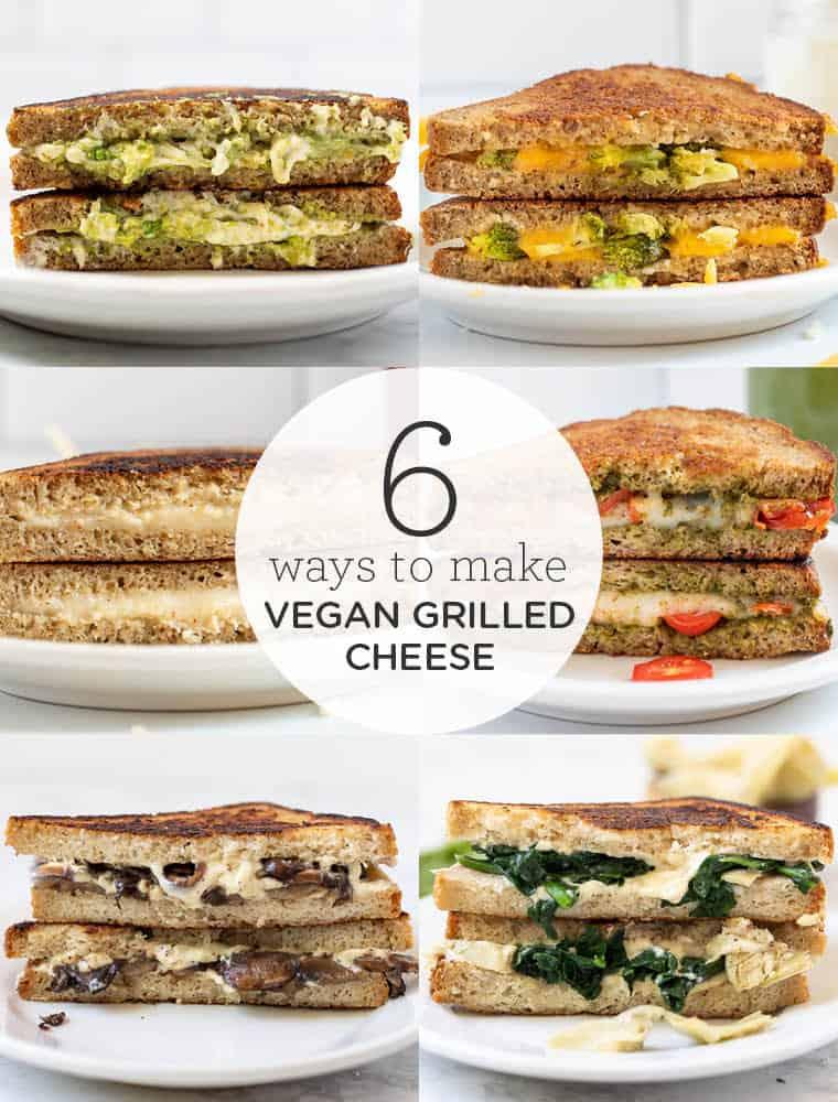 6 Ways to Make Vegan Grilled Cheese