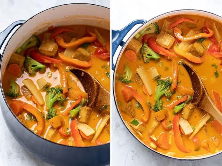 How to make Tofu Red Curry