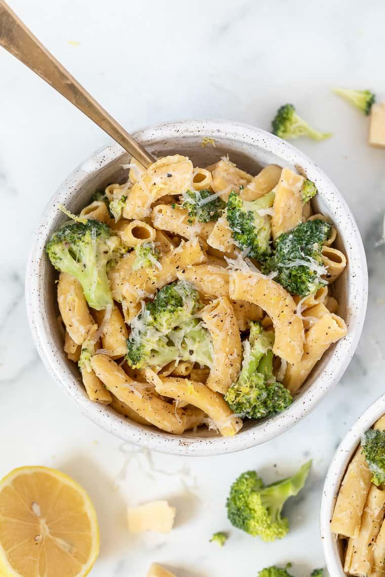 Lemon Broccoli Pasta Recipe