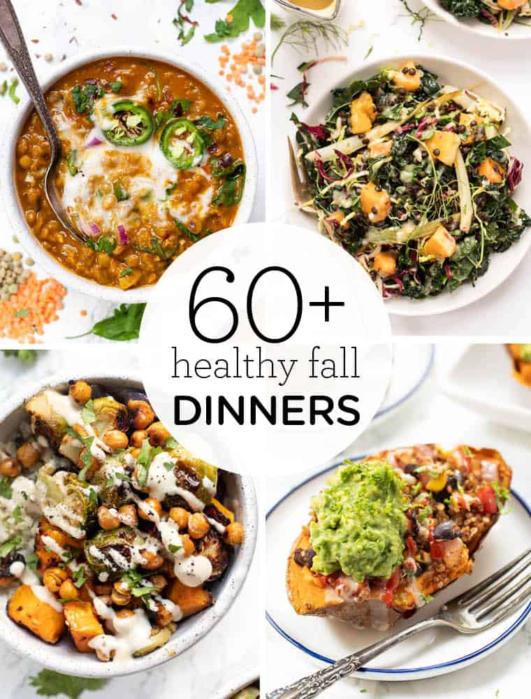 60 Healthy Fall Dinner Recipes