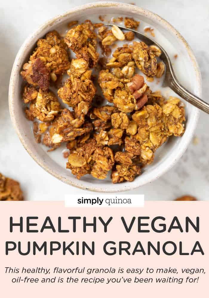 Healthy Pumpkin Granola Recipe