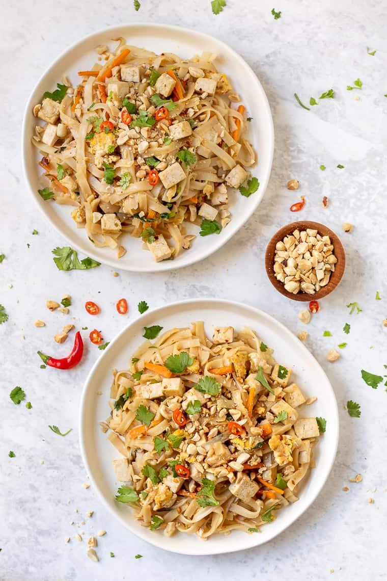 Easy Tofu Pad Thai Recipe