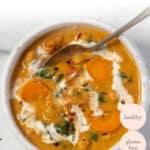 Creamy Chickpea + Pumpkin Stew