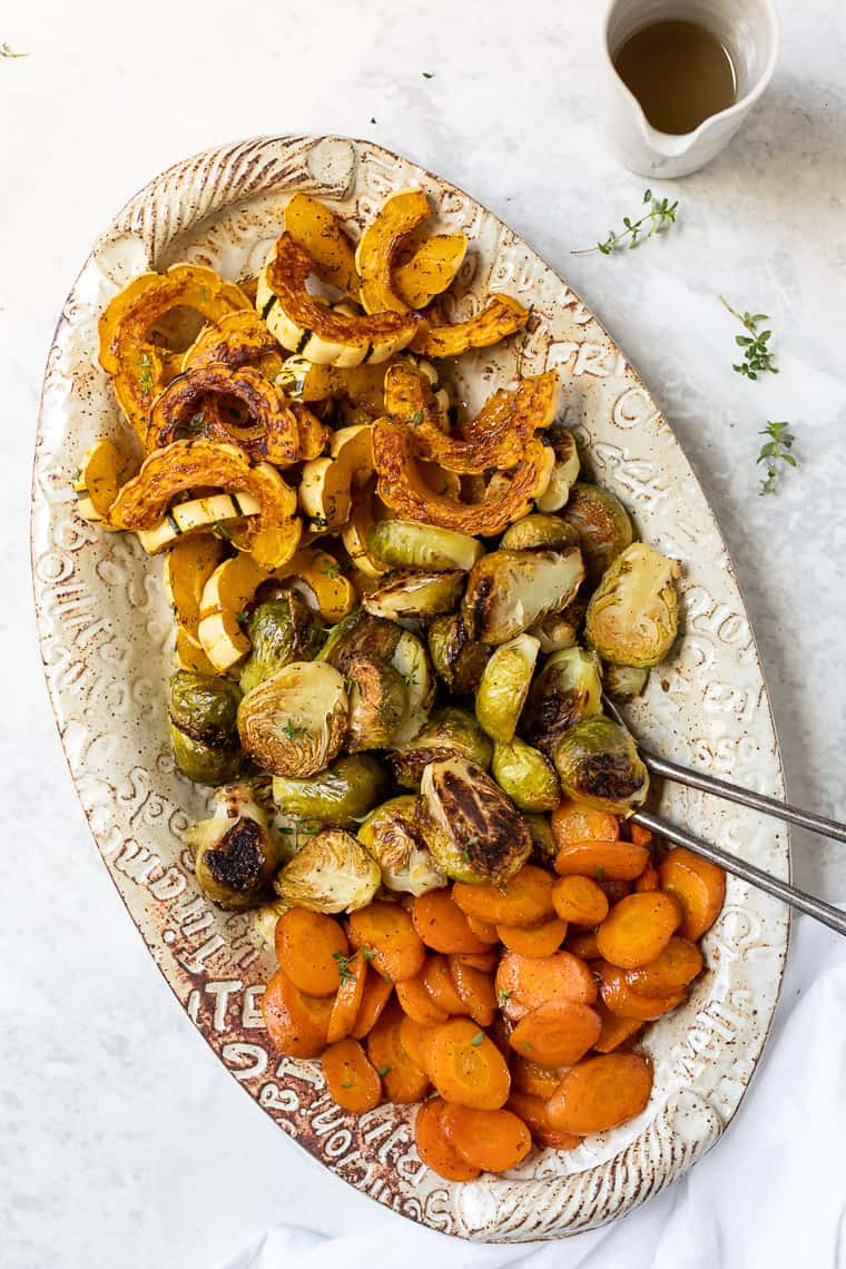 Easy Roasted Winter Vegetables