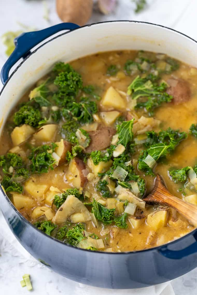 Kale Potato Soup Recipe
