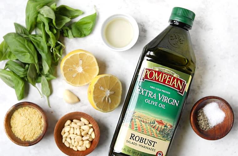 How to Make Basil Vinaigrette