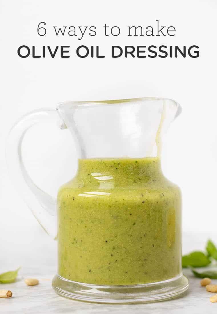 How to Make Olive Oil Salad Dressing