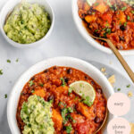 Sweet Potato + Black Bean Quinoa Chili