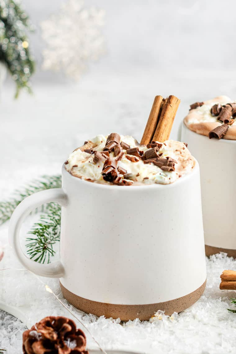 Healthy Vegan Hot Chocolate Recipe