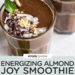 Vegan Almond Joy Smoothie Recipe