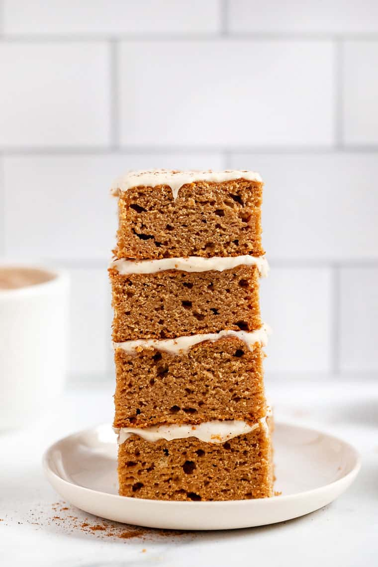 Slices of Healthy Apple Cake