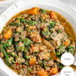 One Pot Lentils and Quinoa