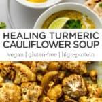 Healing Turmeric Cauliflower Soup