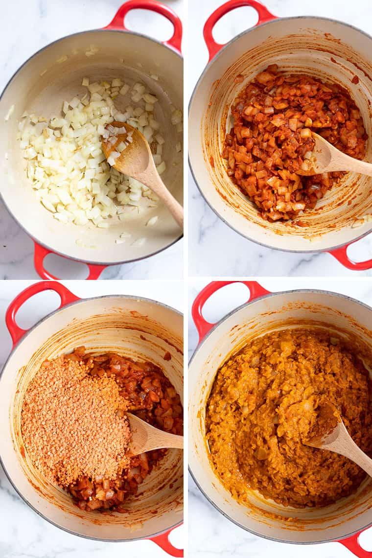 how to make ethiopian lentils