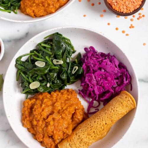 ethiopian lentils recipe with berbere