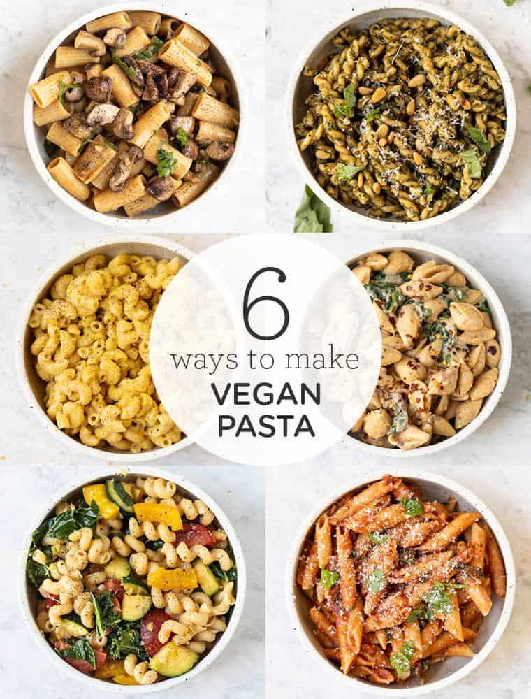 6 vegan pasta recipes