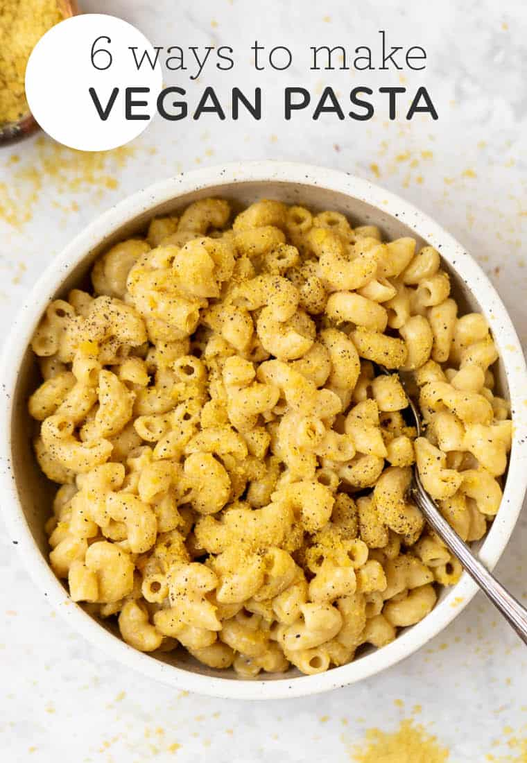 Healthy chickpea pasta recipes 6 different ways