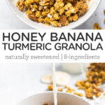 honey granola collage