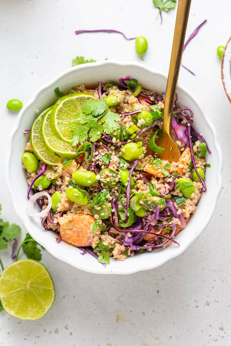 Asian Salad with Quinoa
