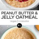 peanut butter and jelly collage text overlay