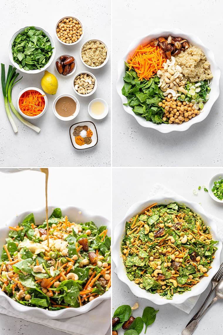 steps to make spicy moroccan quinoa salad