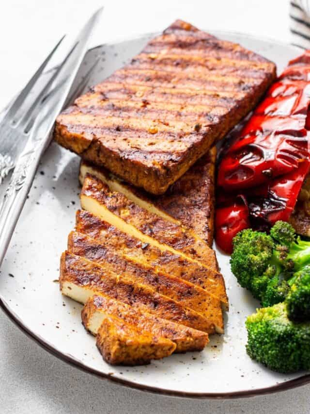 Balsamic Grilled Tofu Recipe