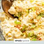 potato salad text overlay