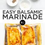 balsamic marinade text overlay