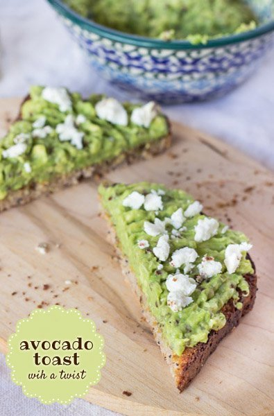Avocado Toast with Quinoa via @alyssarimmer