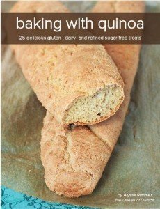 Baking with Quinoa by Alyssa Rimmer | Queen of Quinoa
