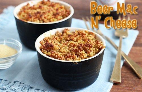Beer Mac n' Cheese | Gluten-Free & Vegan | Queen of Quinoa
