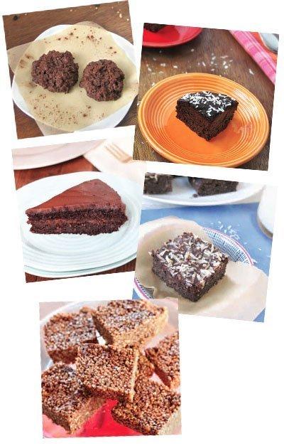 Chocolate Quinoa Desserts via Queen of Quinoa (@alyssarimmer)