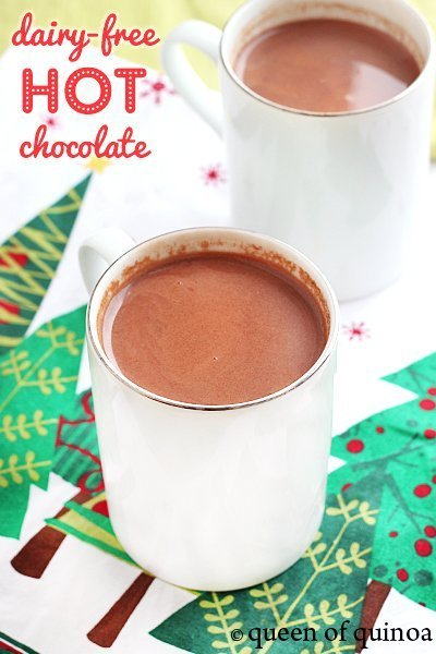 Dairy-Free Hot Chocolate via Queen of Quinoa (@alyssarimmer)