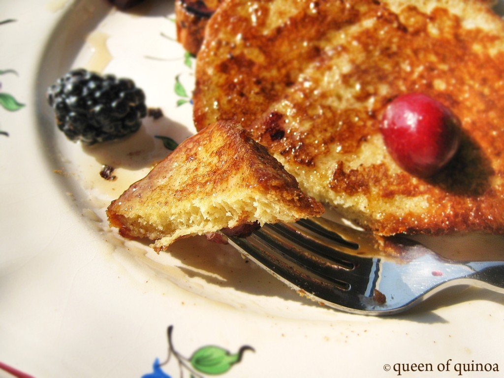 Gluten-free Toast with Berries