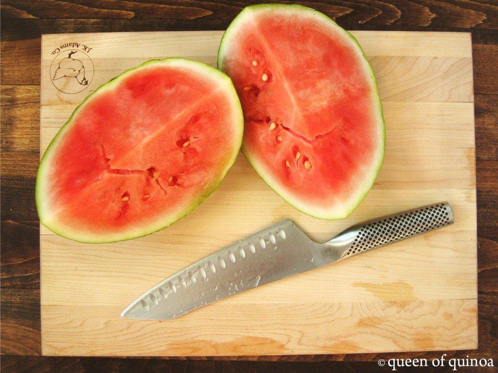 Watermelon Mint Quinoa Salad | Queen of Quinoa