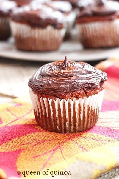 Grain-Free Pumpkin Cupcakes