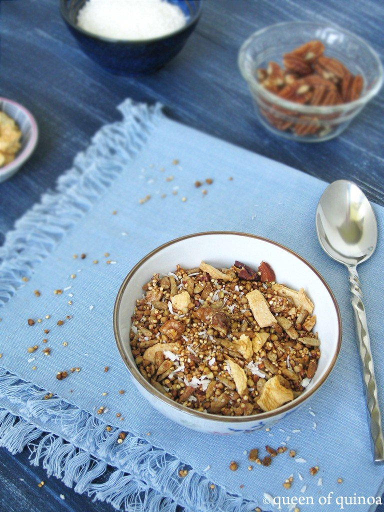 Maple Apple Quinoa Granola | Queen of Quinoa
