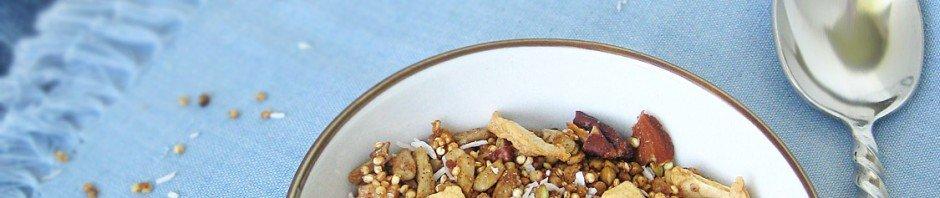 Maple Apple Quinoa Granola | Queen of Quinoa
