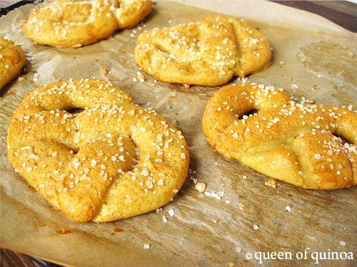 Gluten-Free Soft Pretzels   Queen of Quinoa