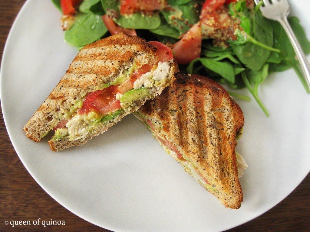 Grilled Chicken Panini {gluten-free}