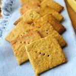 Gluten-free Quinoa Cracker Thins via Queen of Quinoa