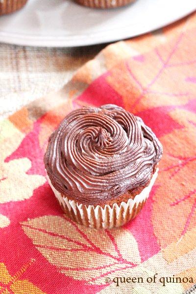 Grain-Free Pumpkin Cupcakes   Gluten-Free   Queen of Quinoa