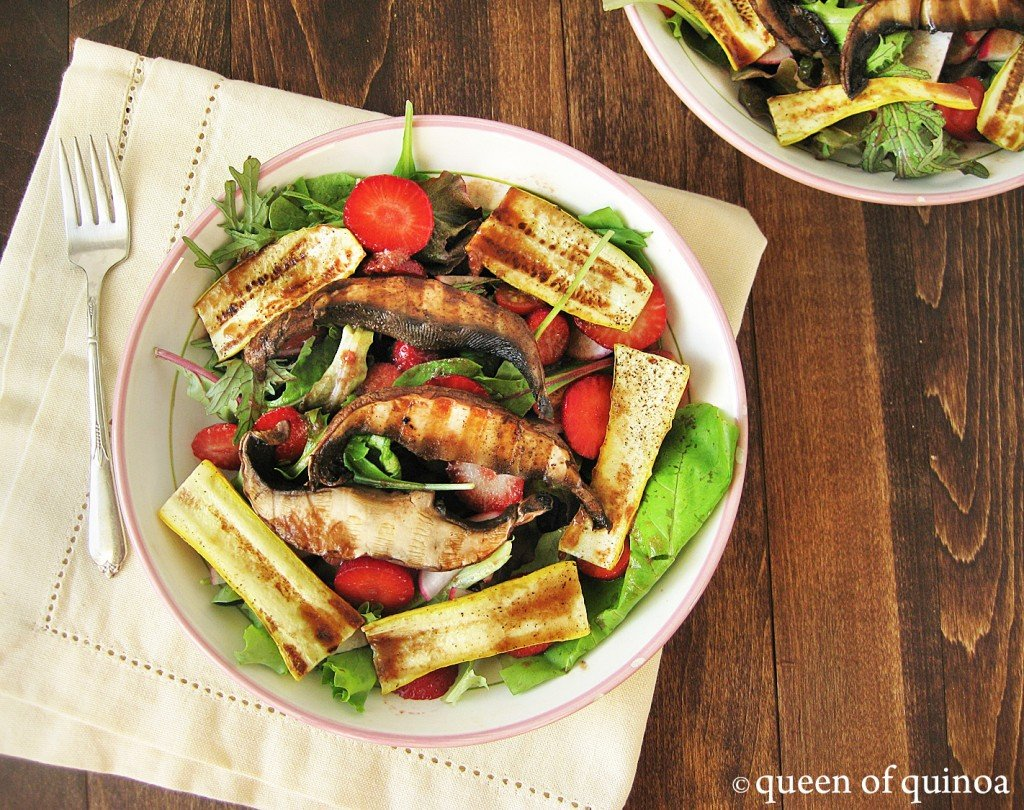 Grilled Summer Vegetable Salad | Queen of Quinoa