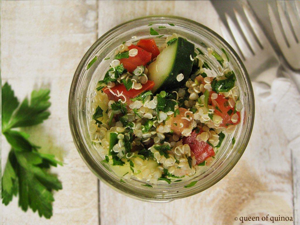 Herbed Quinoa Salad for Spring {gluten-free & vegan}