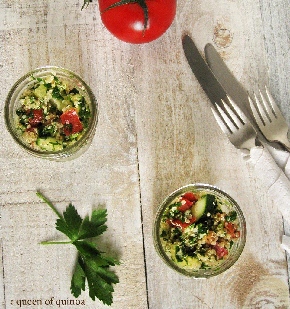 Herbed Spring Quinoa Salad {gluten-free & vegan}