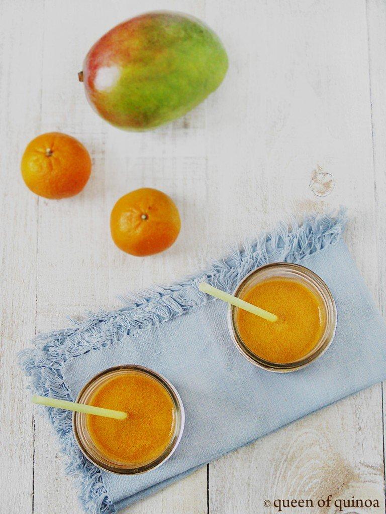 Mango Cardamom Juice